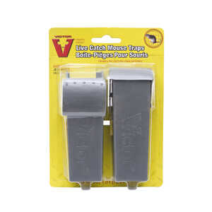 Victor  Small  Live Catch  Animal Trap  For Mice 2 each