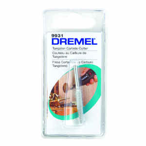Dremel  1/4 in   x 1.5 in. L x 1/8 in. Dia. Tungsten Carbide  Taper Cutter  1 pk