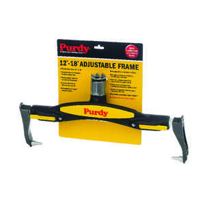 Purdy  Threaded End 12 - 18 in. W Regular  Adjustable Paint Roller Frame