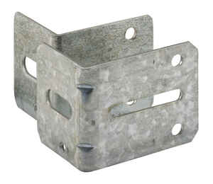 Prime-Line  2-3/16 in. W x 2-1/4 & 2-3/4 in. L Steel  Bracket