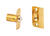 Ives  2.13 in. H x 1 in. W x 1.38 in. D Polished Brass  Brass  Ball Catch