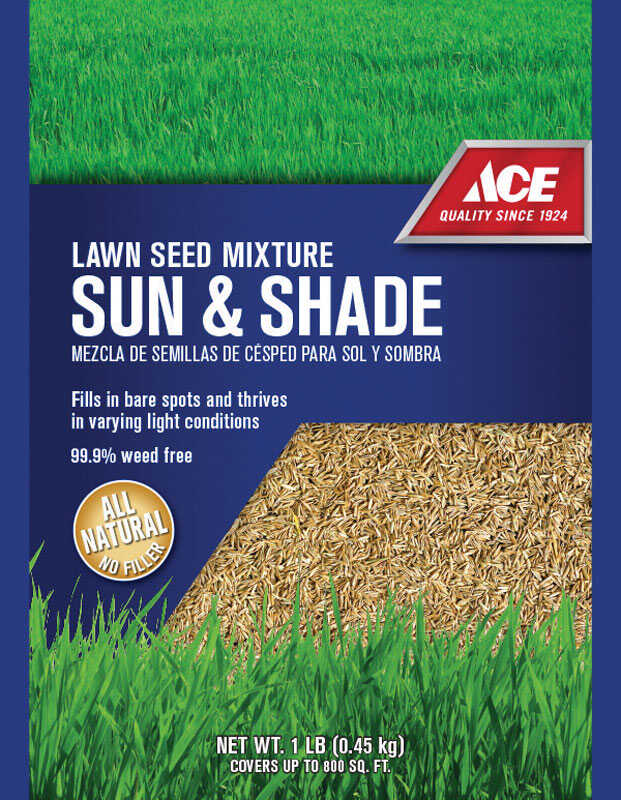 Ace  Lawn Seed Mixture  1 lb.