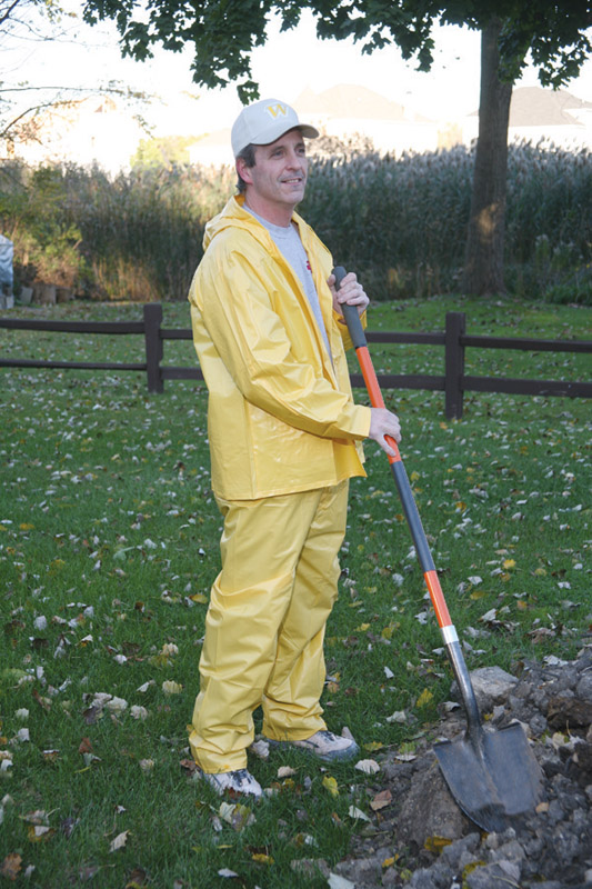 Boulder Creek  Vinyl  Rain Suit  Yellow