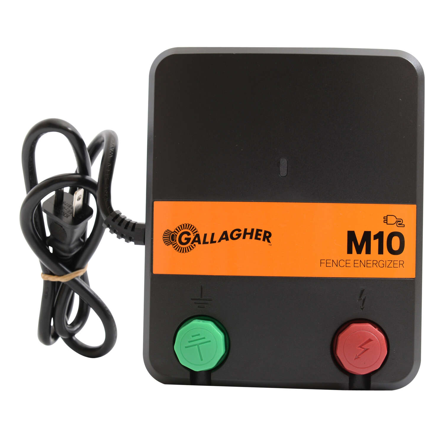 Gallagher  M10  110 volt Electric  Fence Energizer  2 mi. Black/Orange