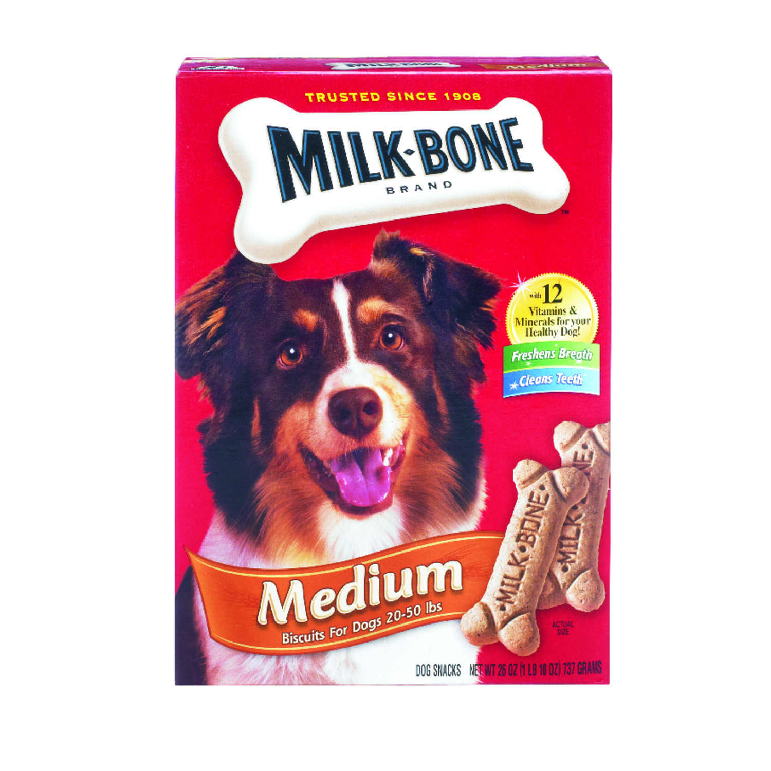 Milk Bone  Original Flavor  Dog  Biscuit  1 pk 24 oz.
