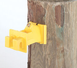 Dare Products  Wood Post Insulator  Yellow