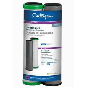 Culligan  Clear Promise  Drinking Water Replacement Filter  For Under Sink 500 gal.