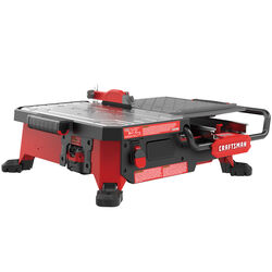 Craftsman  V20  7 in. Cordless  Compact  Wet Tile Saw  20 volt 0.75 hp 2800 rpm
