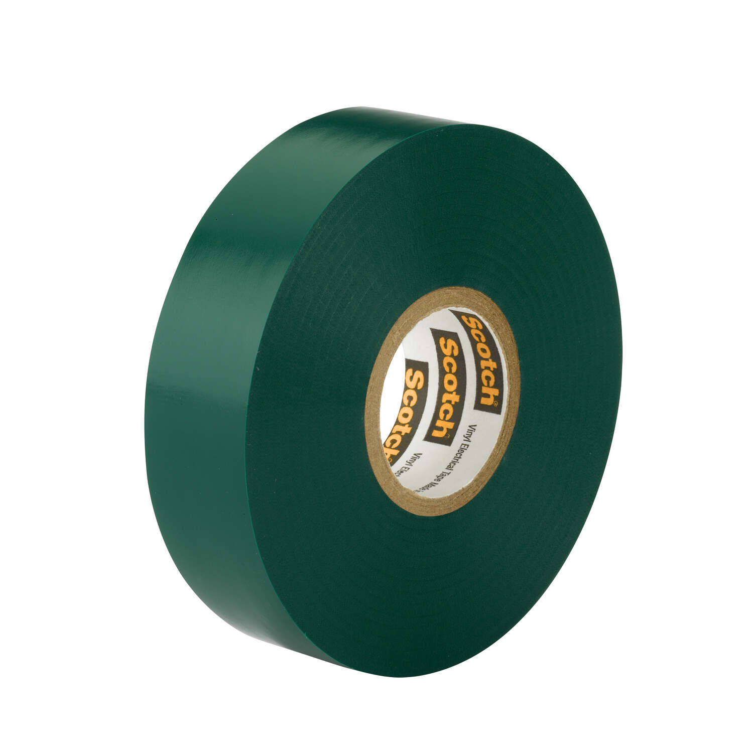 Scotch  3/4 in. W x 66 ft. L Green  Vinyl  Electrical Tape
