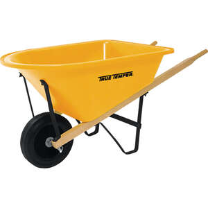 True Temper  Poly  Kid�s Wheelbarrow  2 cu. ft.