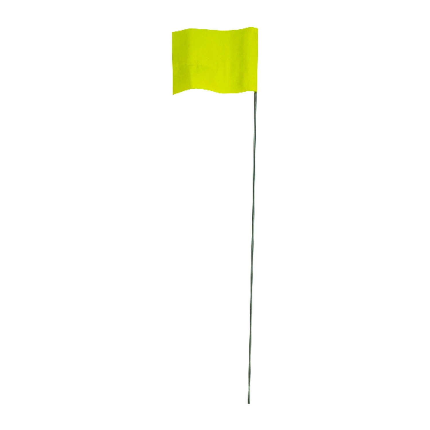 C.H. Hanson  15 in. Yellow  Marking Flags  Polyvinyl  100 pk