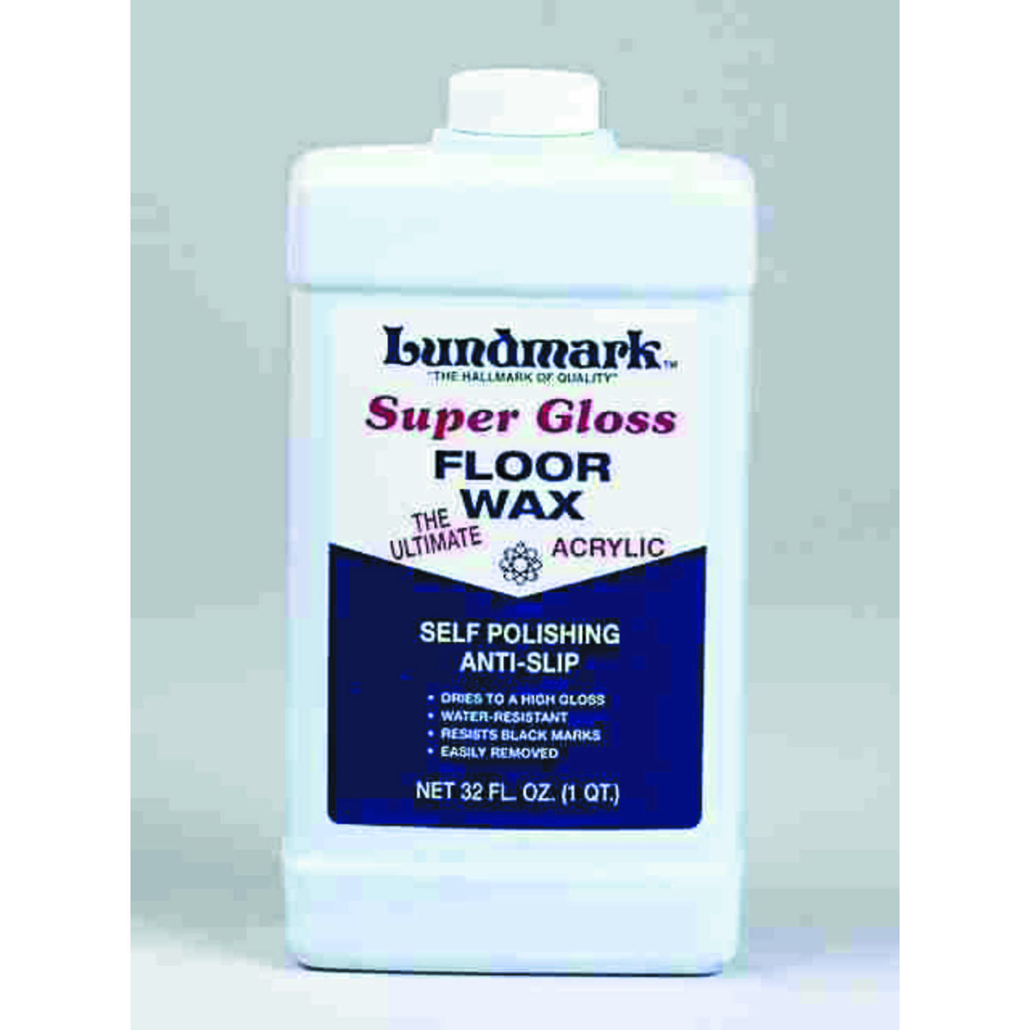 Lundmark  Super Gloss  Anti-Slip Floor Wax  Liquid  32 oz.