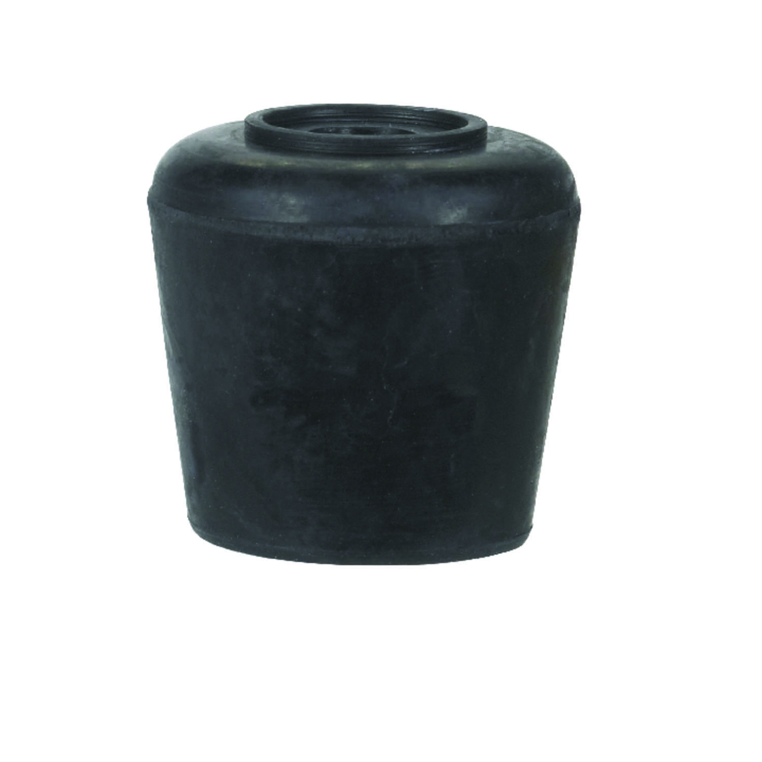 Shepherd  Rubber  Leg Tip  Black  1-1/8 in. W Round  40 pk
