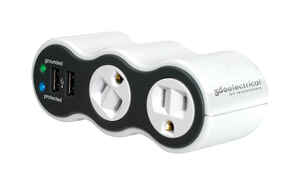 360 Electrical  306 J 2 outlets Surge Protector