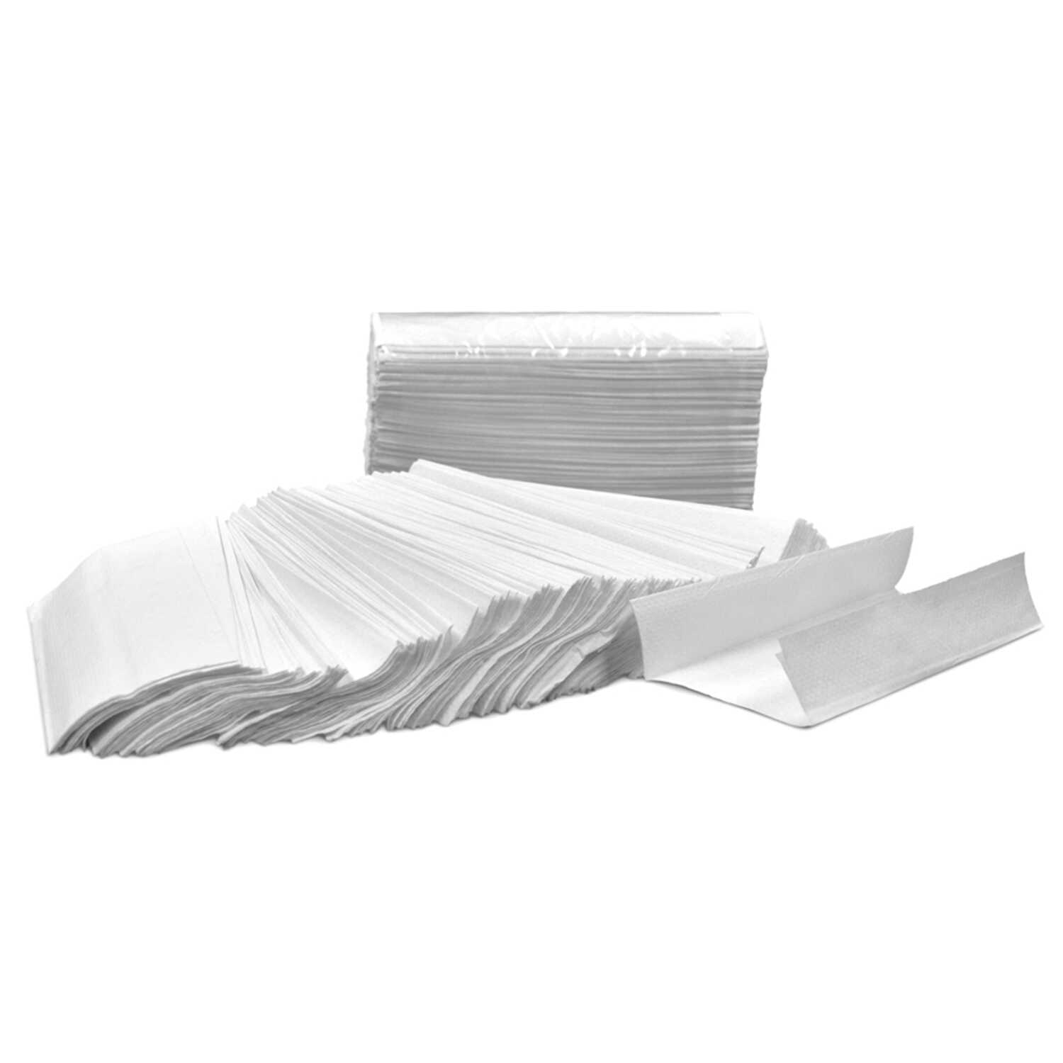 Harbor  C-Fold Towels  200 sheet 1 ply 12 pk