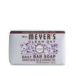 Mrs. Meyer's  Clean Day  Organic Lavendar Scent Bar Soap  5.3 oz.