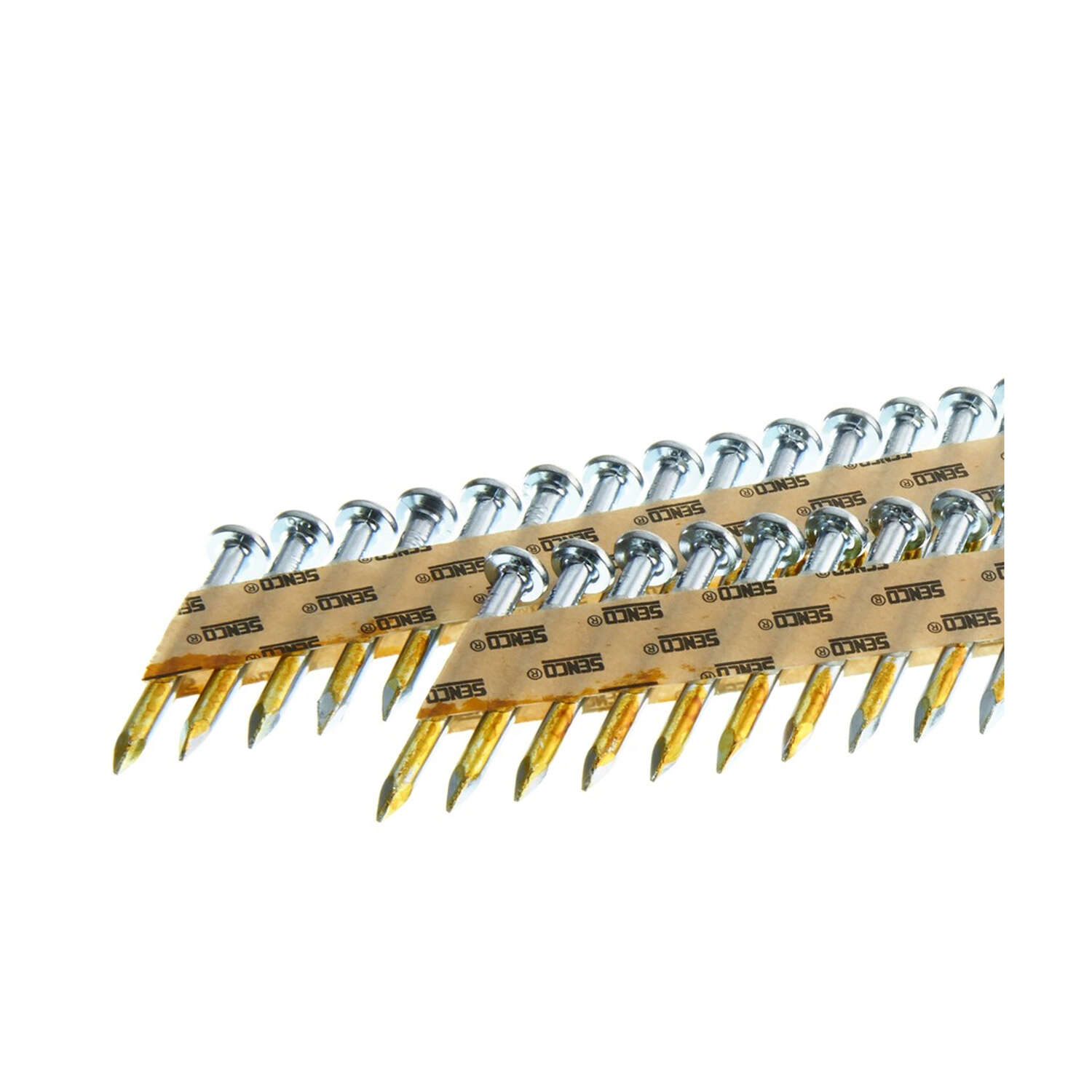 Senco  1-1/2 in. Angled Strip  Metal Connector Nails  34 deg. Smooth Shank  2,000 pk