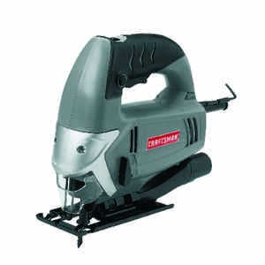 Craftsman  11/16 in. Corded  Keyless Orbital Jig Saw  4.8 amps 3000 spm