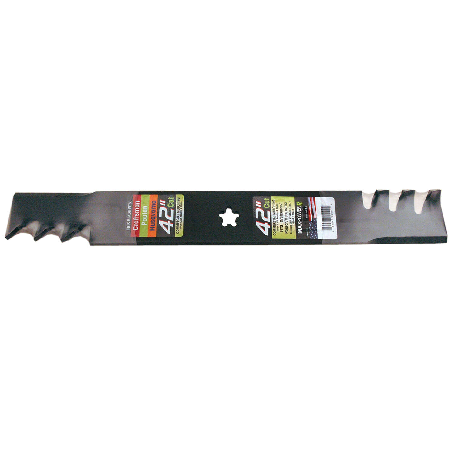 MaxPower 42 in. Mulching Mower Blade For Riding Mowers 1 pk
