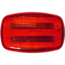 Peterson  Red  Rectangular  Light