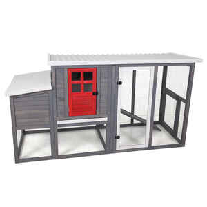 Precision  4 to 5 Chickens  Wood  Chicken Coop