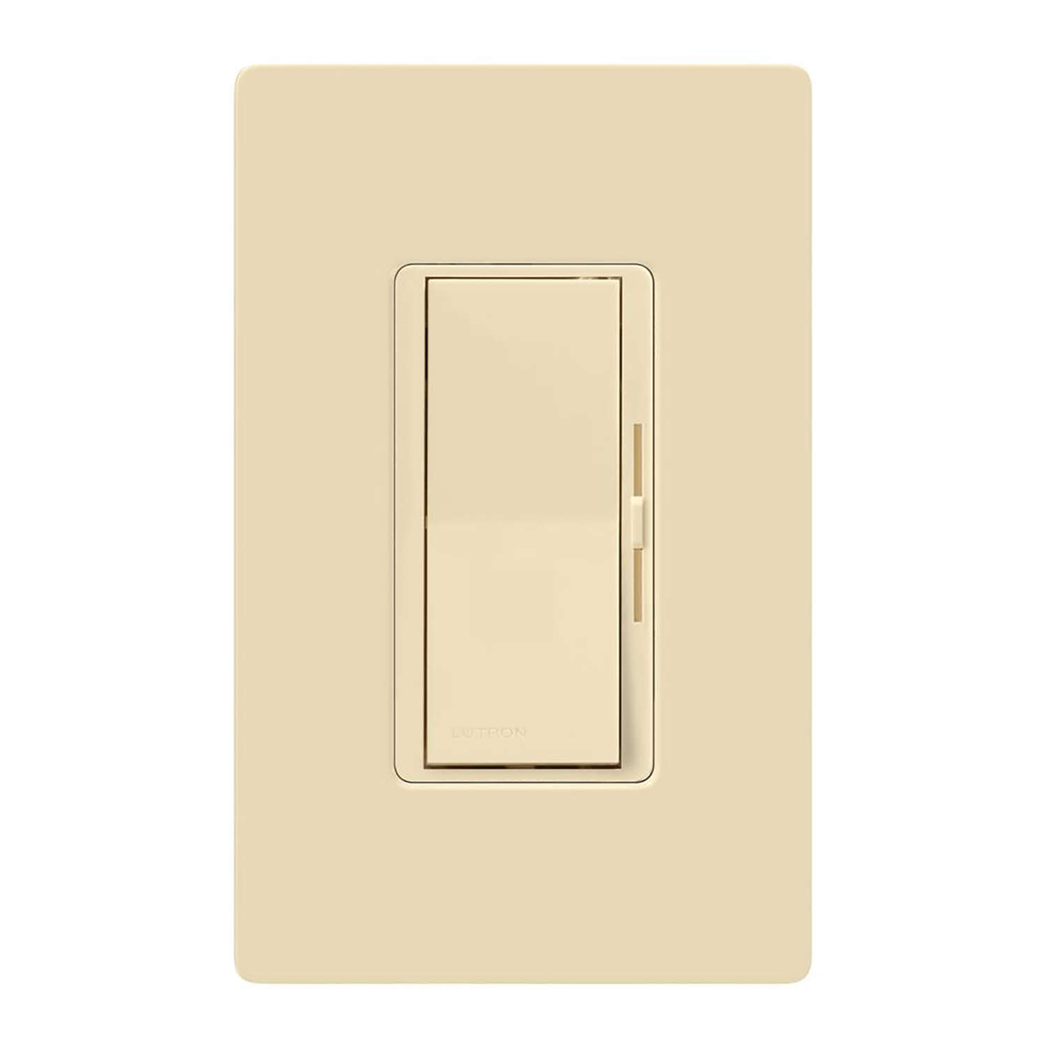 Lutron Diva Ivory 150 watt 3-Way Dimmer Switch 1 pk