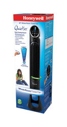 Honeywell  QuietSet  40 in. H 8 speed Oscillating Tower Fan