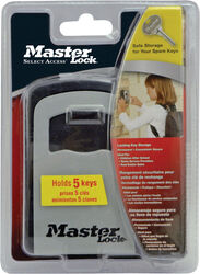 Master Lock Gray Locked Key Storage Steel 4-Digit Combination