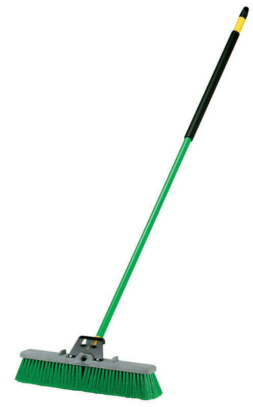 Quickie  Bulldozer  Polypropylene  18 in. Push Broom