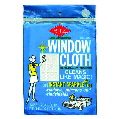 Ritz Original Scent Window Cleaner 1 pk Wipes