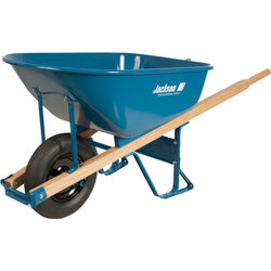 Jackson  Steel  Wheelbarrow  6 cu. ft.