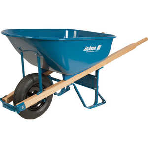 Jackson  Steel  6 cu. ft. Wheelbarrow