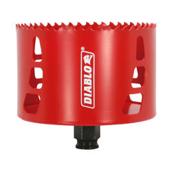 Diablo  Snap-Lock Plus  4 in. Dia. x 2-3/8 in. L Bi-Metal  Hole Saw  1 pc.