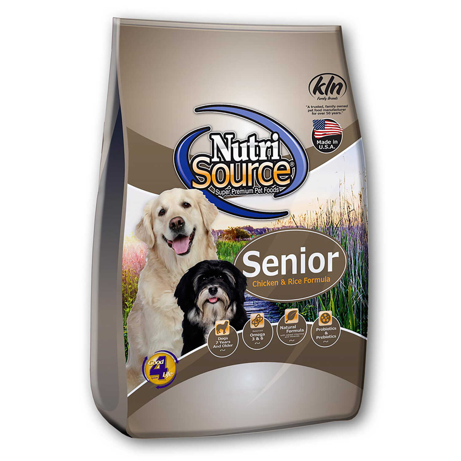 Nutri Source  Chicken and Rice  Dog  Food  30 lb.
