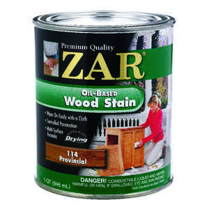 ZAR  Semi-Transparent  Provincial  Oil-Based  Wood Stain  1 qt.
