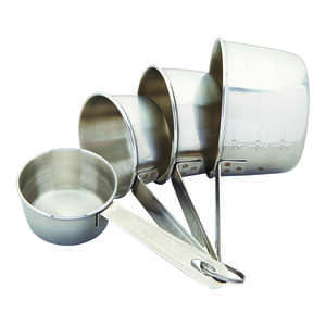 Good Cook  Stainless Steel  Silver  Measuring Set
