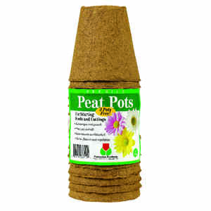 Plantation Products  Peat Pot  15 pk