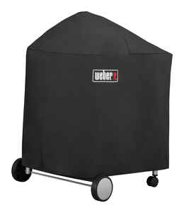 Weber  Black  Grill Cover  42 in. W x 33 in. D x 40 in. H For Fits Performer 22 inch charcoal grills