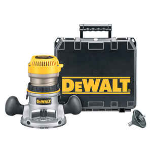 DeWalt  1.75 hp Corded  Router  Kit 6 in. Dia. 1-3/4 hp 24500 rpm