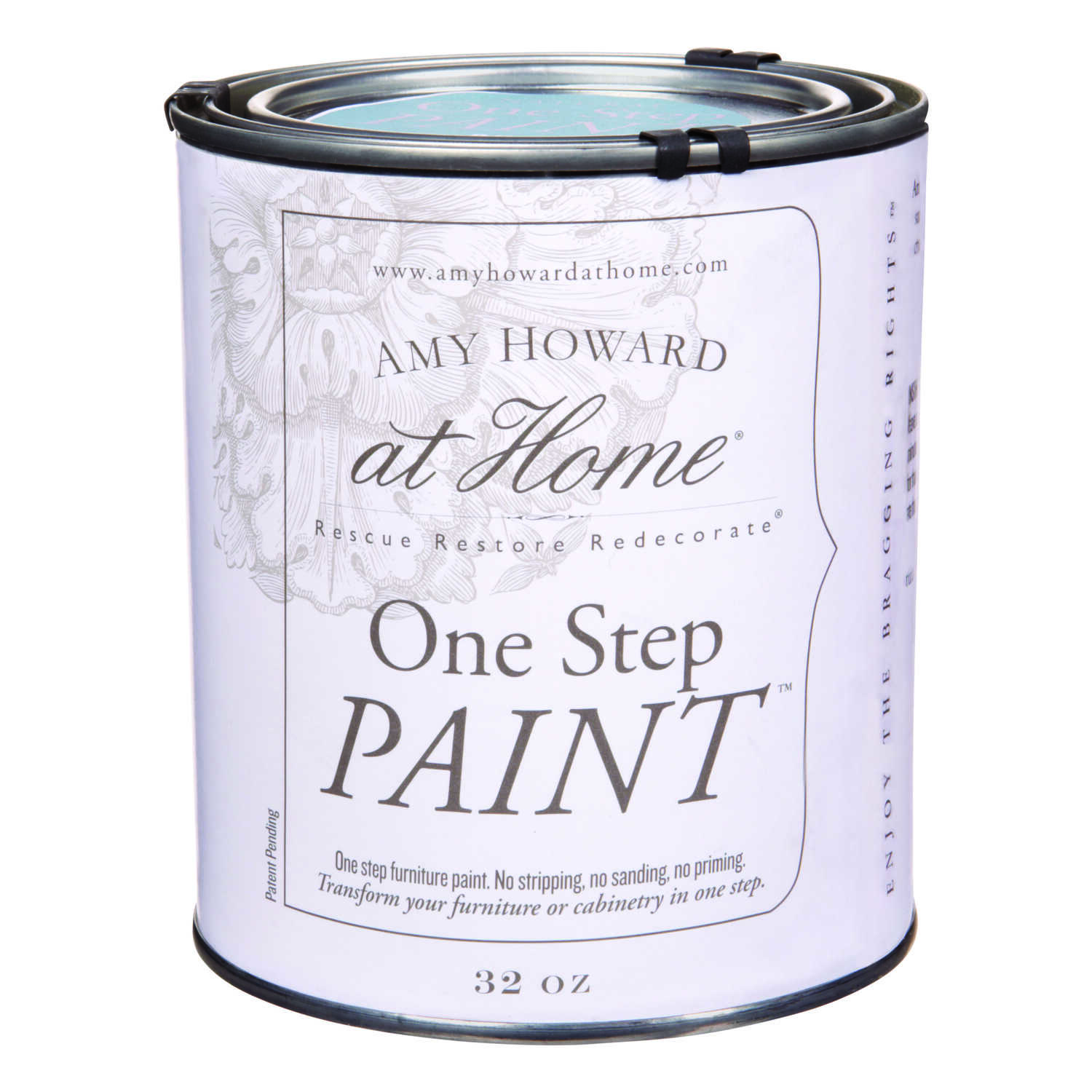 Amy Howard at Home  Flat Chalky Finish  Rugo  One Step Paint  32 oz.