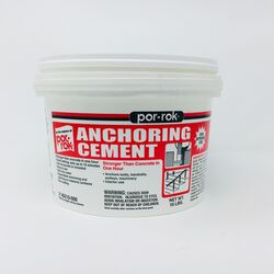 CGM  Por-Rok  Off White  Anchoring Cement  10 lb.