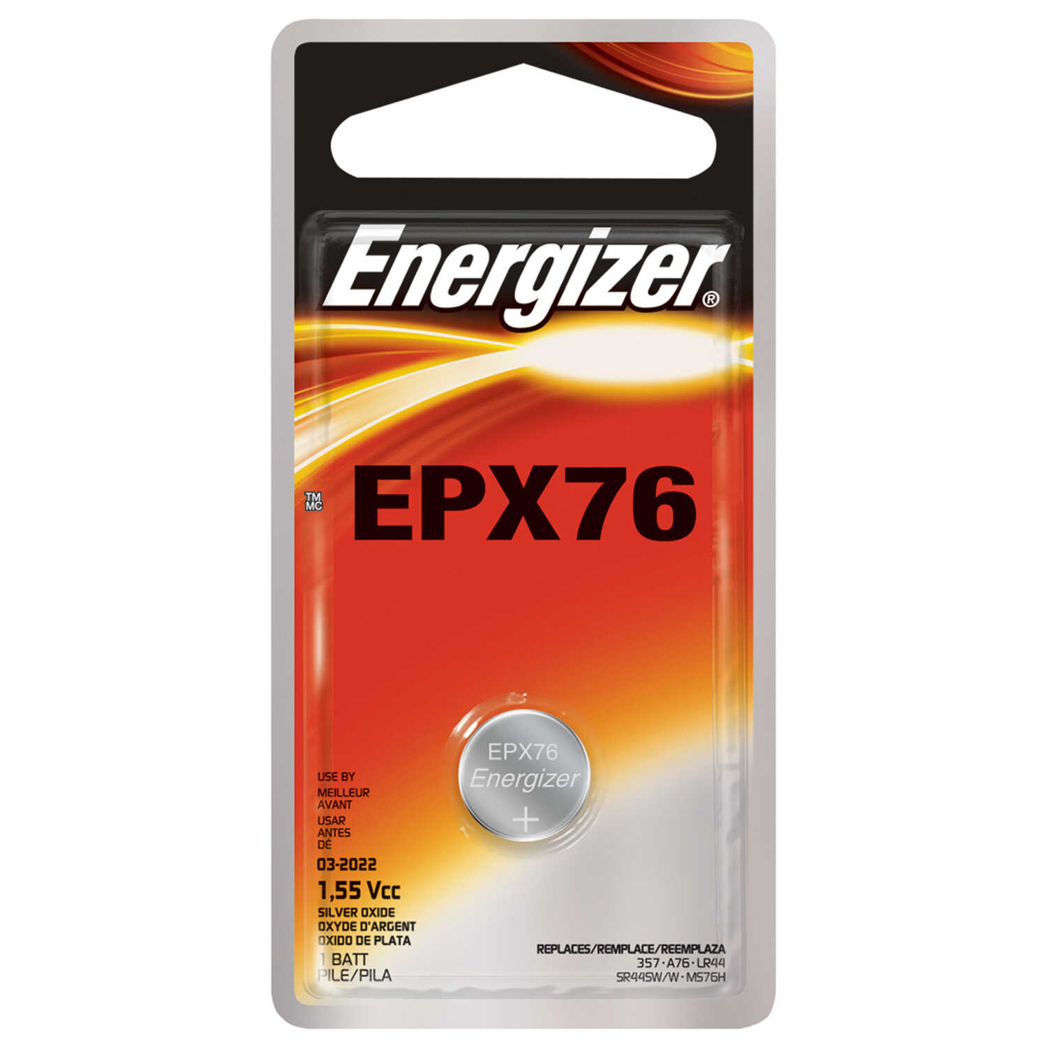 Energizer  Alkaline  AAA  1.5 volt Button Cell Battery  1 pk