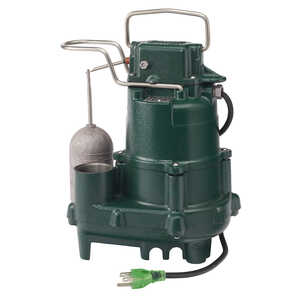 Zoeller  Model M95  1/2 hp 80 gpm Cast Iron  Submersible Sump Pump