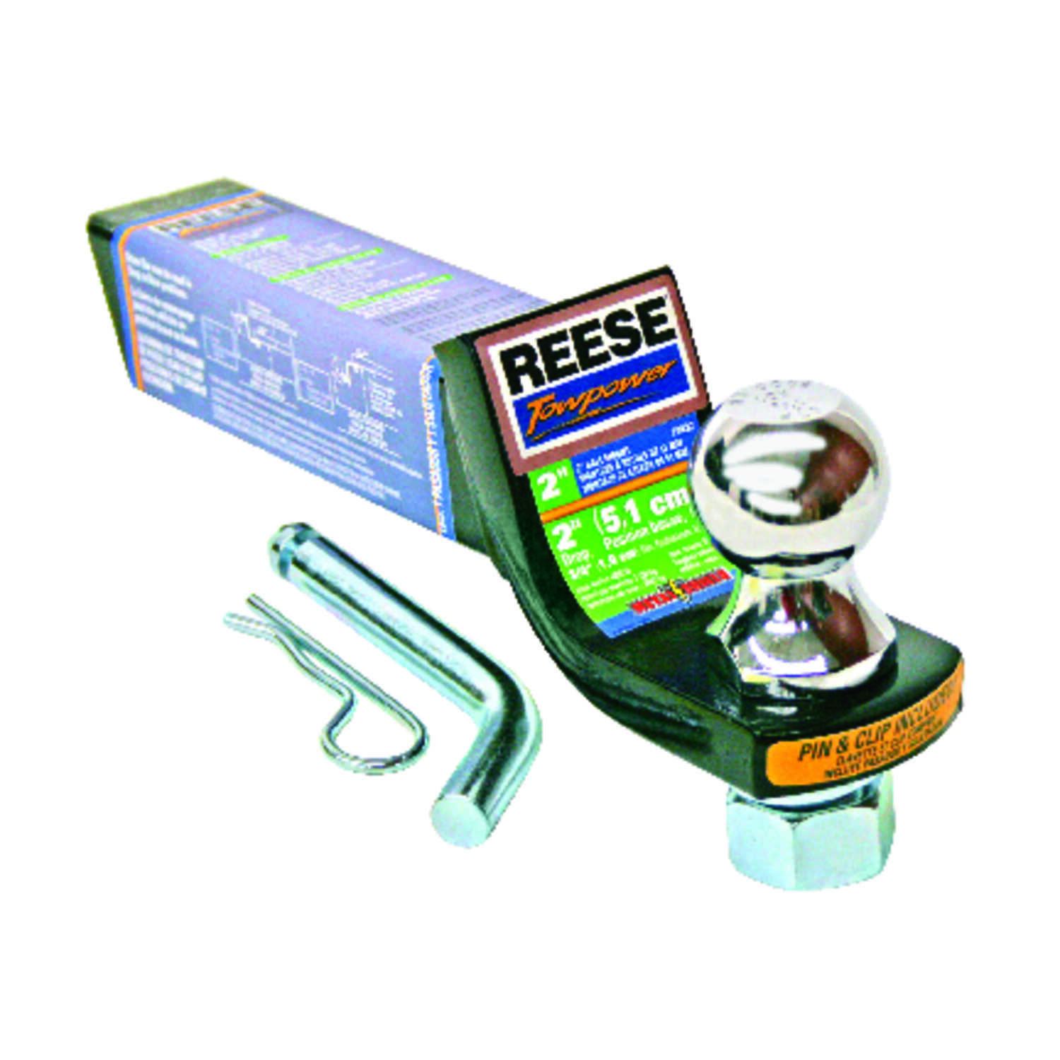 Reese  Towpower  Steel  Standard  1-7/8 in. 8 in. Towing Starter Kit