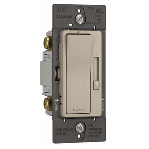 Legrand  Radiant  Gray  450 watts Slide  Dimmer Switch  1 pk