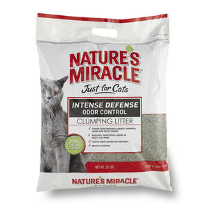 Nature's Miracle  No Scent Cat Litter  20 lb.
