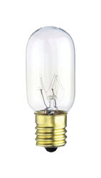 Westinghouse  25 watt T8  Tubular  Incandescent Bulb  E17 (Intermediate)  Warm White  1 pk