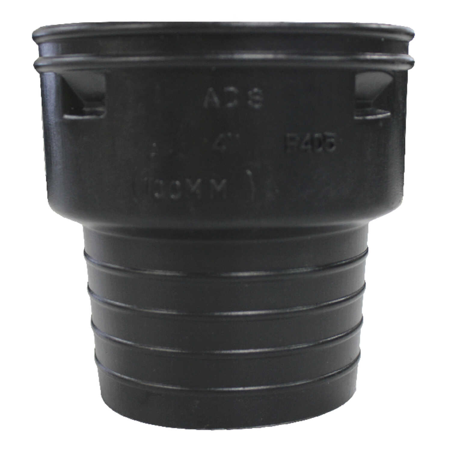 ADS  6 in. Snap   x 4 in. Dia. Corrugated-to-Clay Pipe Adapter