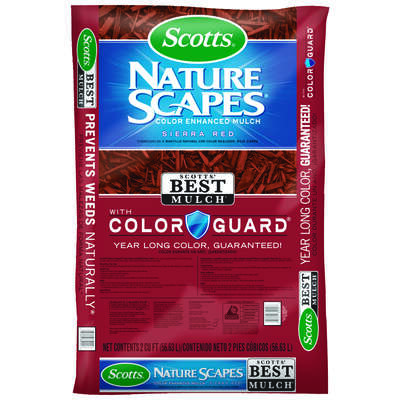 Scotts Nature Scapes Sierra Red Bark Color-Enhanced Mulch 2 cu. ft.