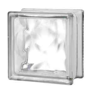 Seves  6 in. H x 6 in. W x 3 in. D Nubio  Glass Block
